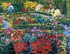 Image Result For Klimt Flower Garden
